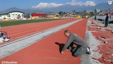 Photo of पोखरामा आठ महिनापछि शुरु भयो खेलकूूद गतिविधि