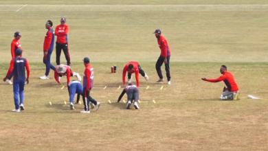 Photo of राष्ट्रिय क्रिकेट टीमको प्रशिक्षण जारी, २७ खेलाडी सहभागी
