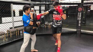Photo of अन्तर्राष्ट्रिय प्रतियोगितामा भाग लिन युवा बक्सर प्रशिक्षण लिँदै